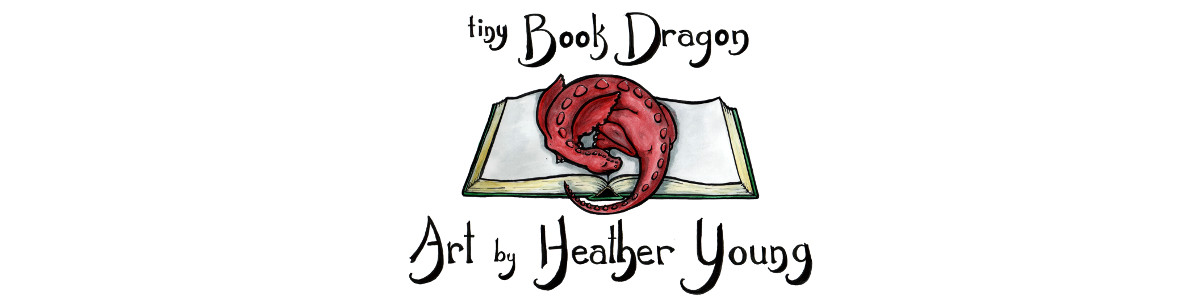 tiny Book Dragon