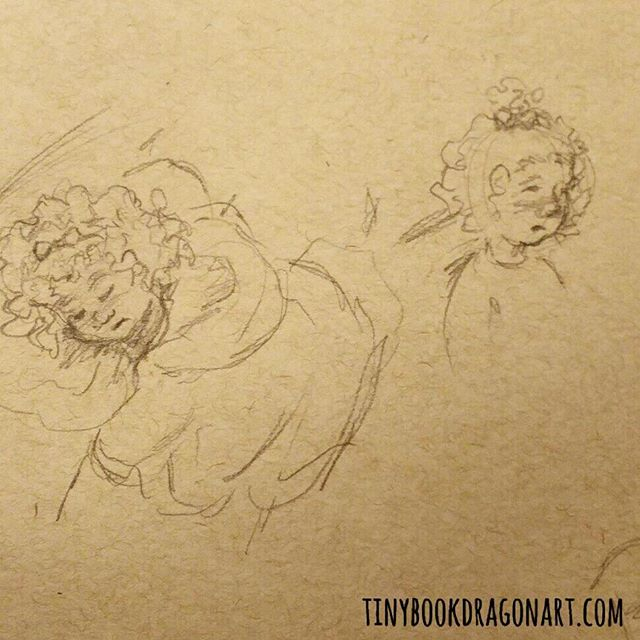 Still at ER. Full of sick little ones, poor things. #sketch #pencil #pencilsketch #strathmore #tonedpaper #kids #sickday